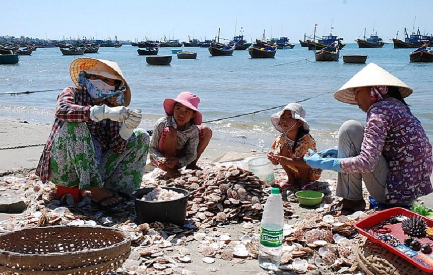 Колоритная деревня Ге Ка, Вьетнам