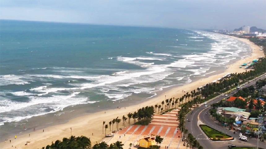 Пляж Микхе во Вьетнаме