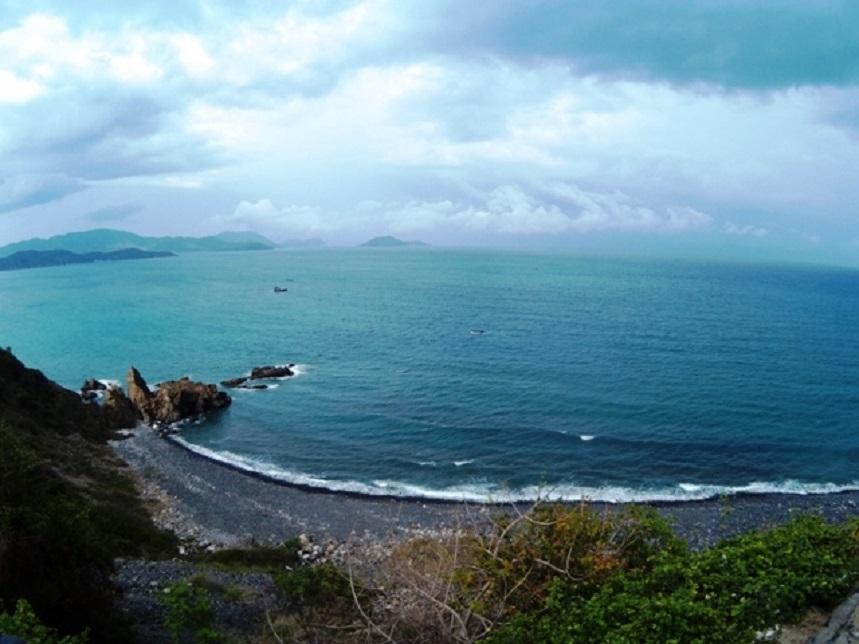 Пляж Бай Дай в своём конце