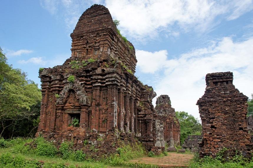 Остатки Тямской империи на территории Вьетнама