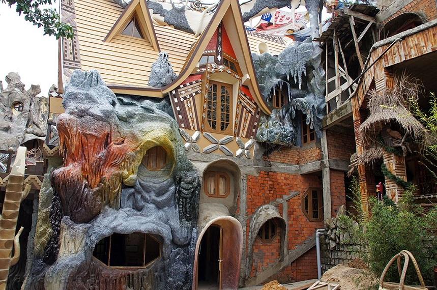 остевой дом Ханг Нга, или Crazy House