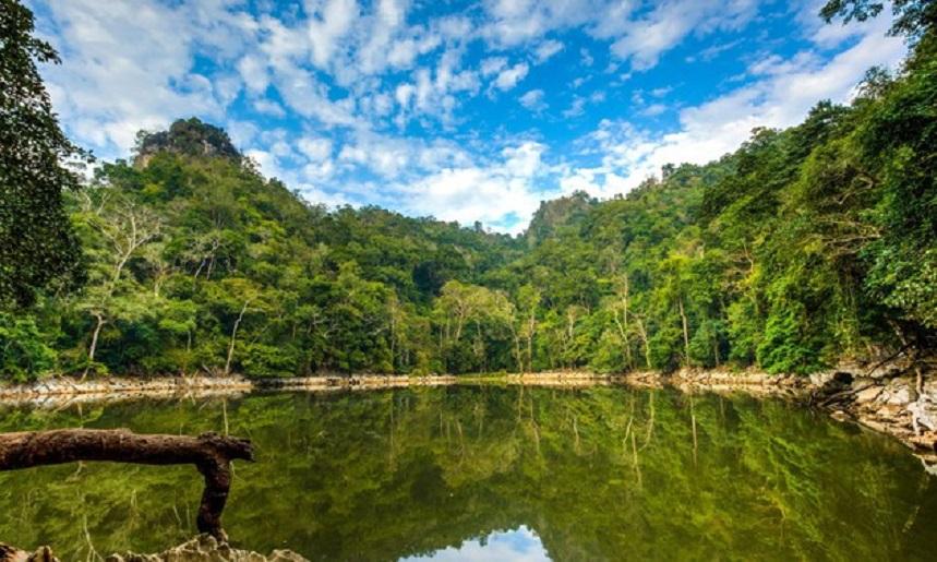 Достопримечательности Вьетнама Озеро Бабе