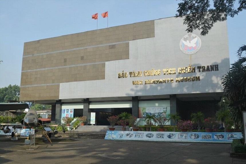Музей жертв войны находится в городе Хошимин