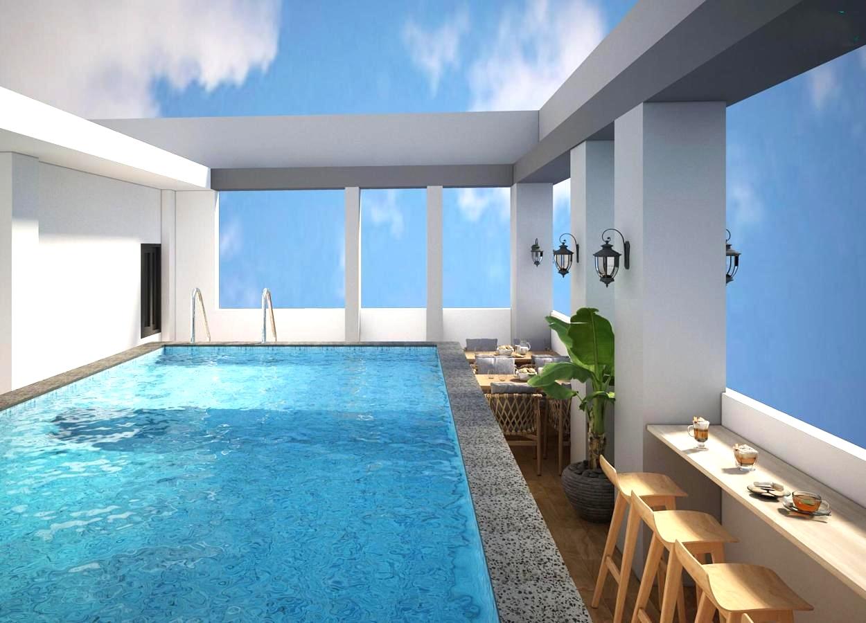 Фото бассейна в Голден Лотус