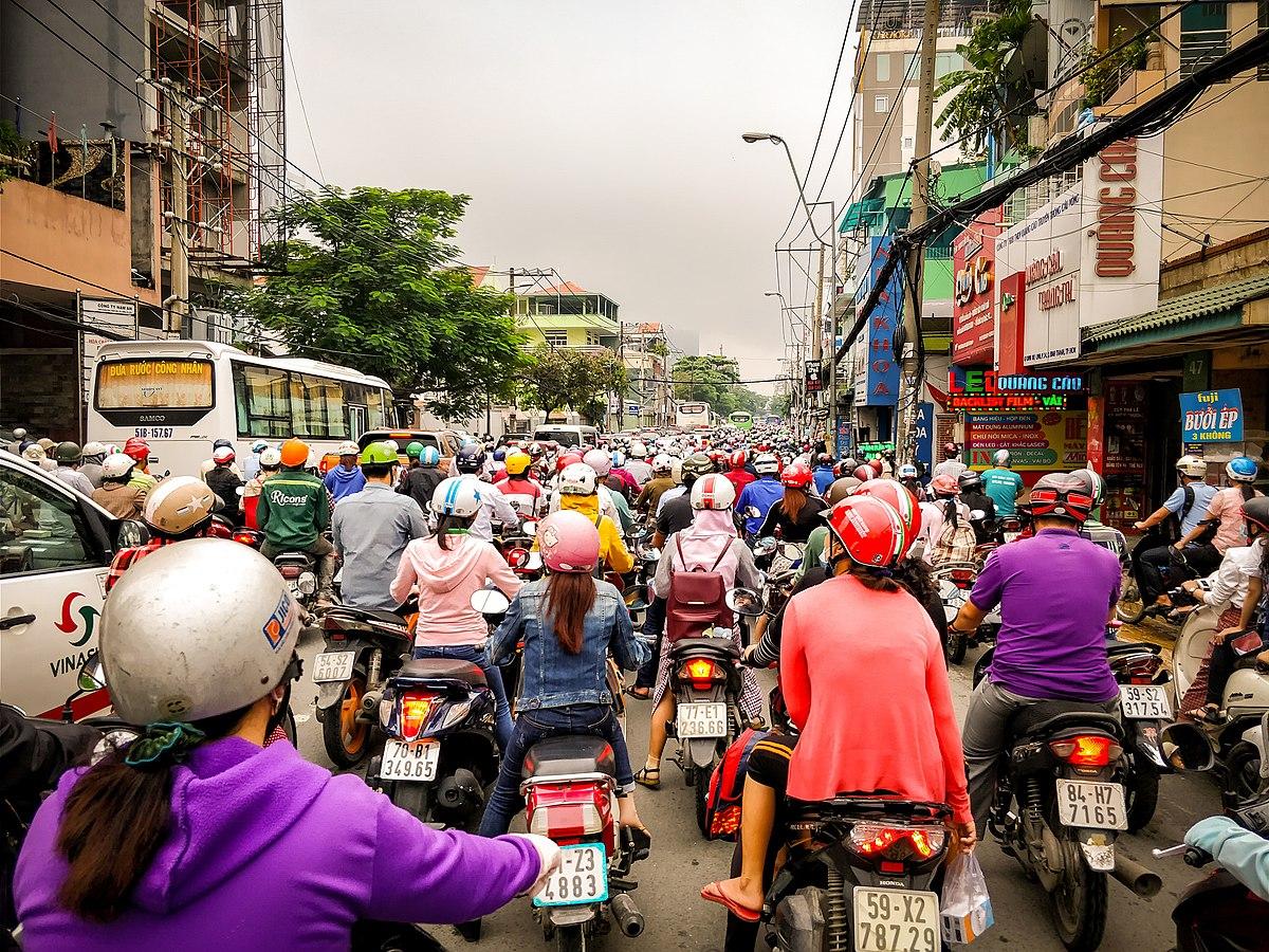 Фото дороги во Вьетнаме