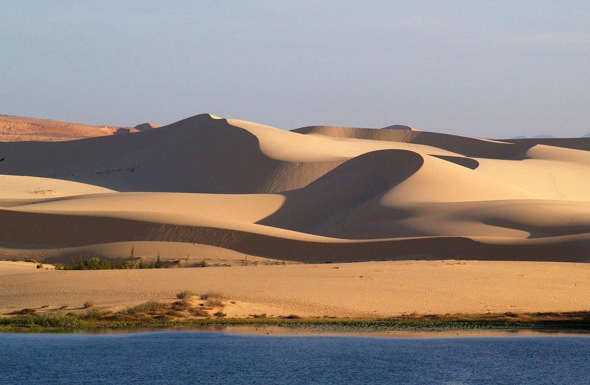 Фото белых дюн