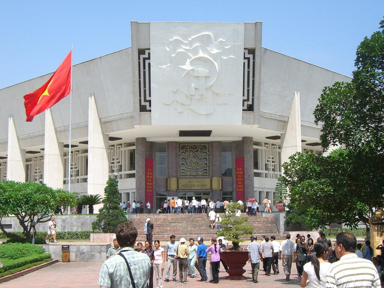 Фото музея Хо Ши Мина