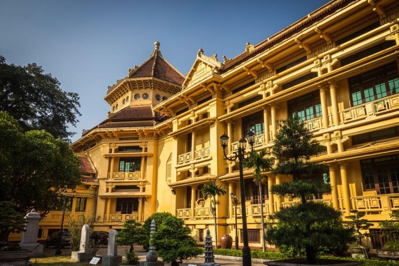Фото музея вьетнамской истории