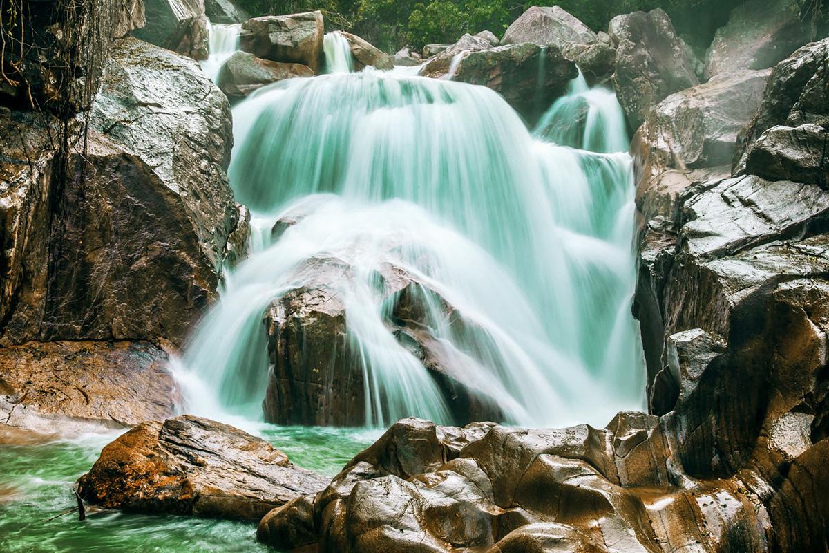Фото водопада Бахо