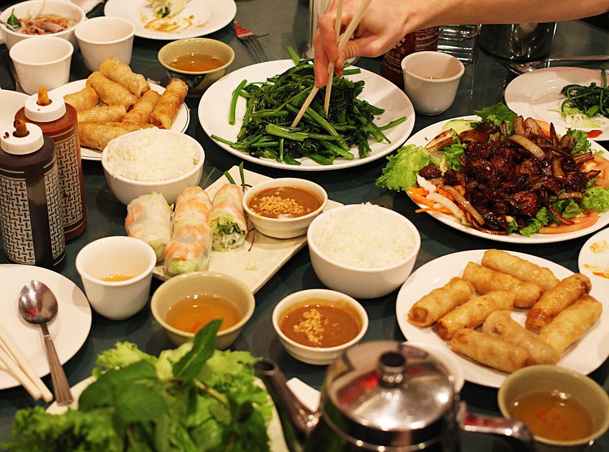 Фото еды во Вьетнаме