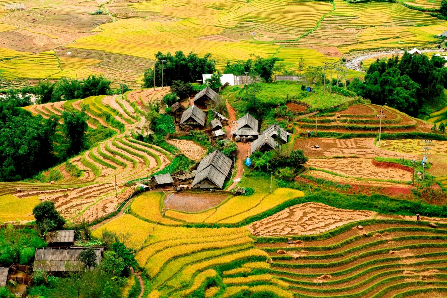 Фото осени во Вьетнаме
