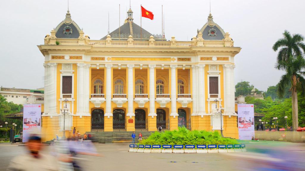 Так выглядит оперный театр Ханоя