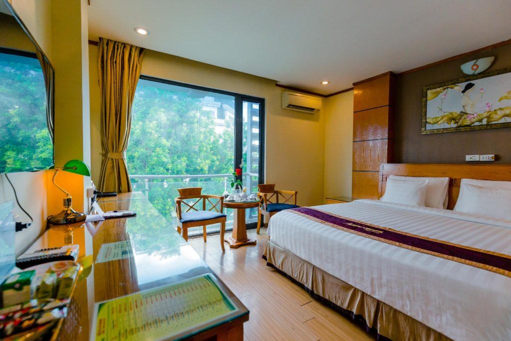 Номерной фонд отеля Дань Чу