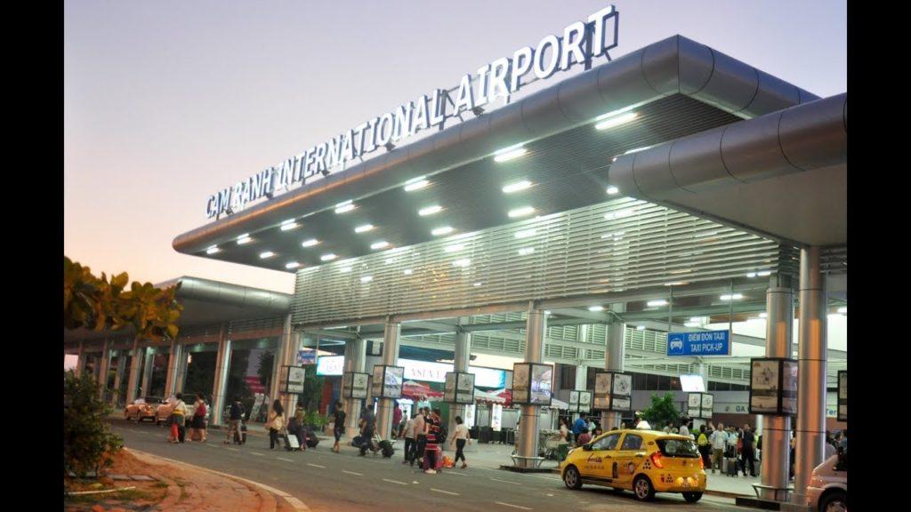 На фото аэропорт Нячанга