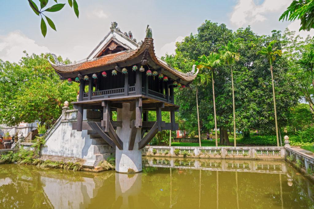 Пагода Мот Кот в Ханое