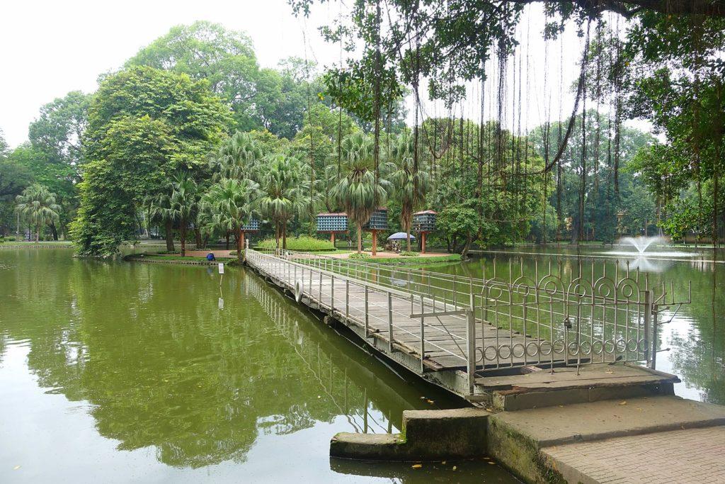 На фото Ботанический сад Ханоя