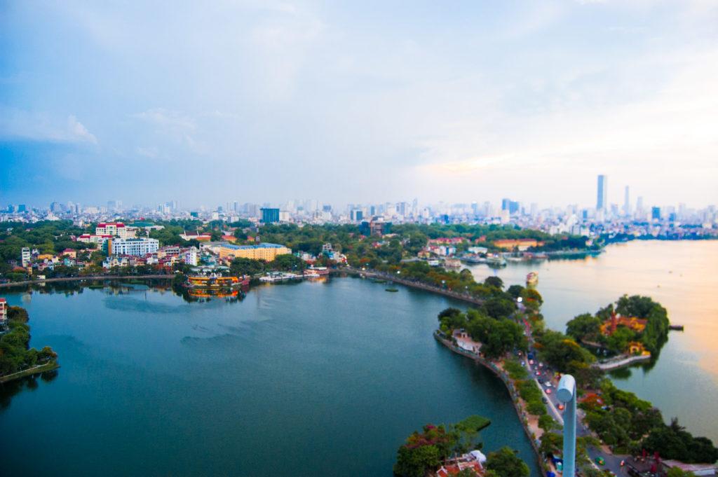 Вид на озеро Тэй