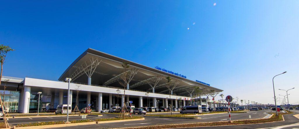 На фото изображен аэропорт Нойбай