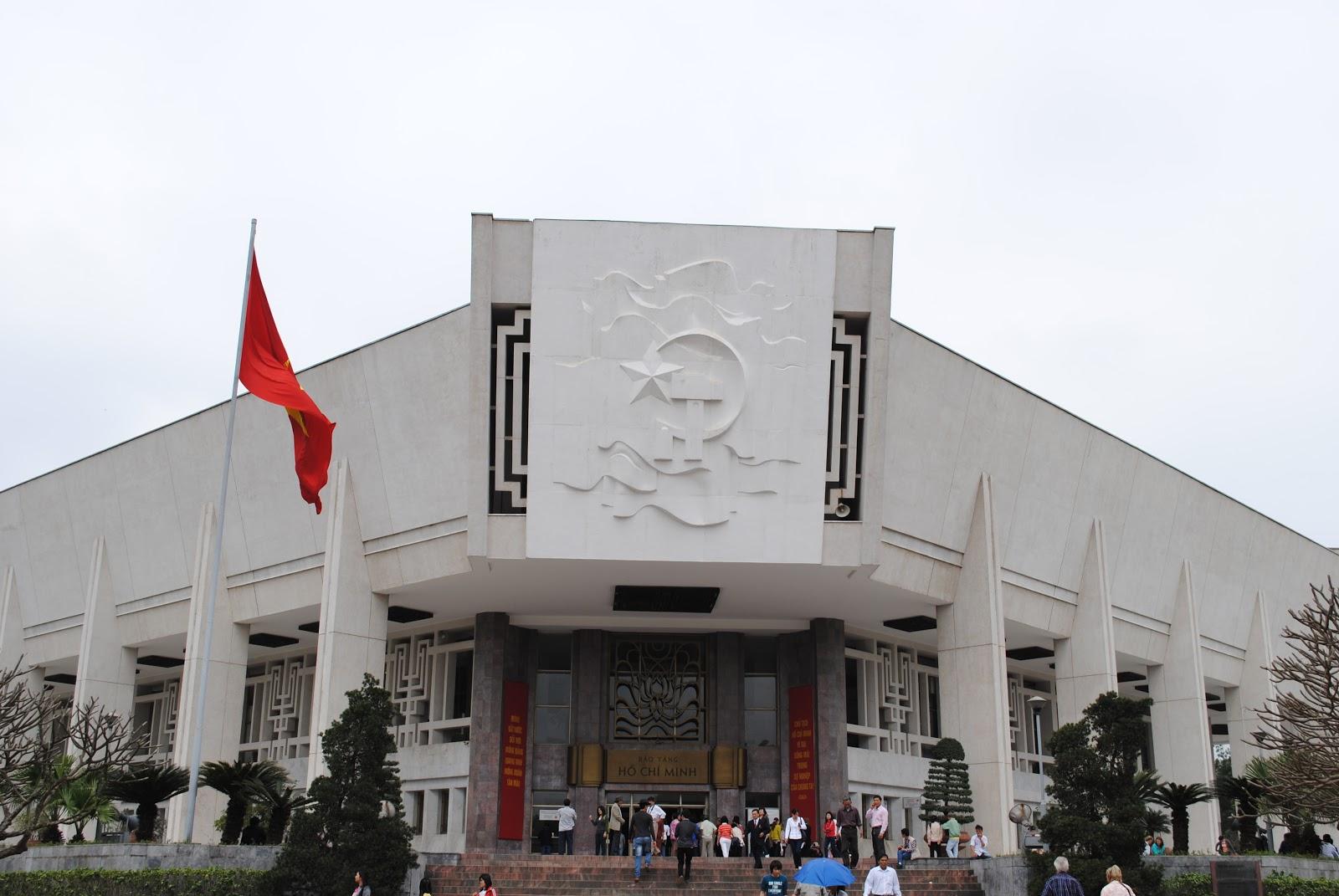 На фото музей Хо Ши Мина
