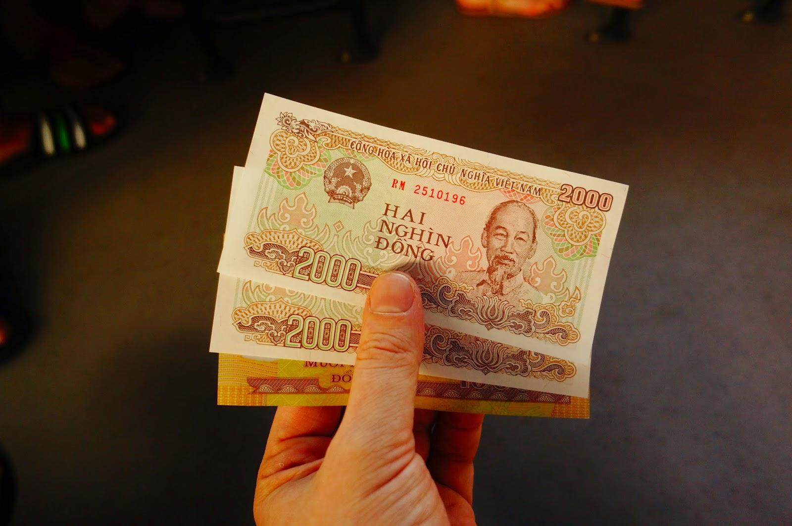 Национальная валюта Вьетнама