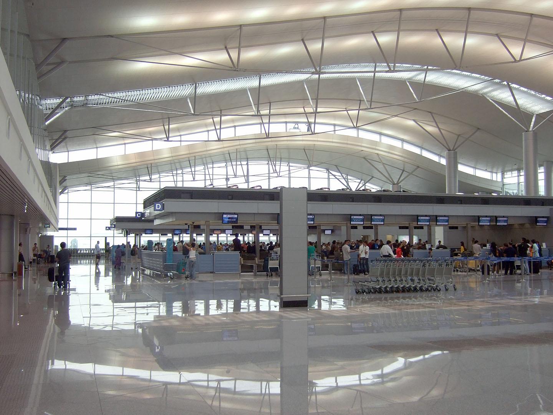 Международный терминал аэропорта в Хошимине