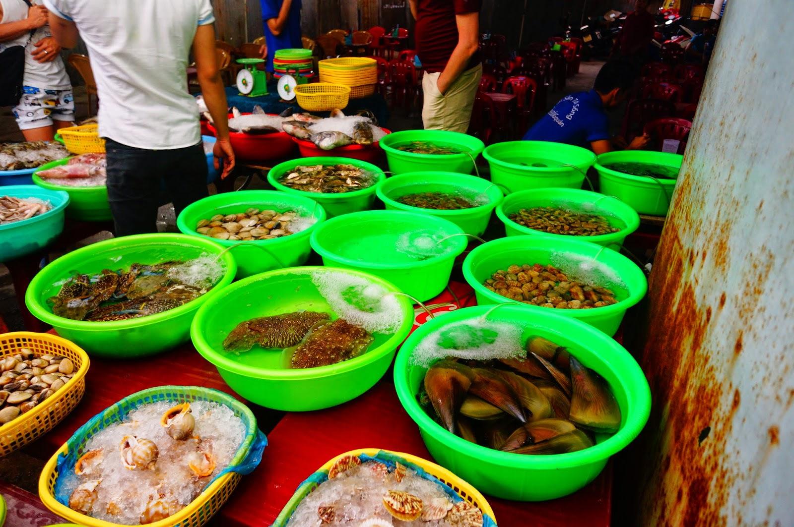 Рынки морепродуктов