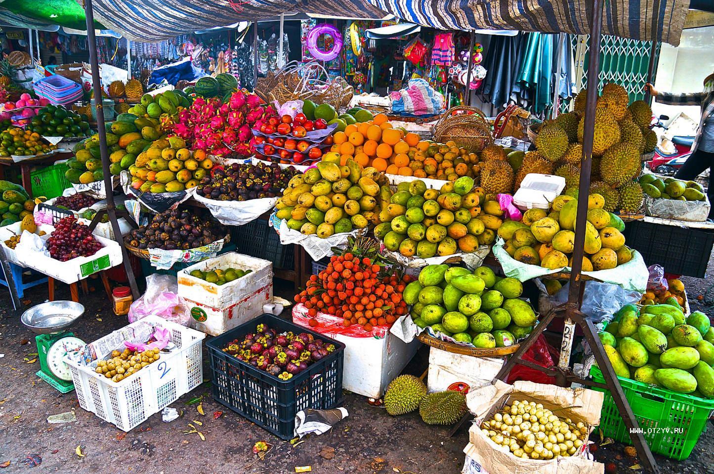 Основные продукты в Нячанге