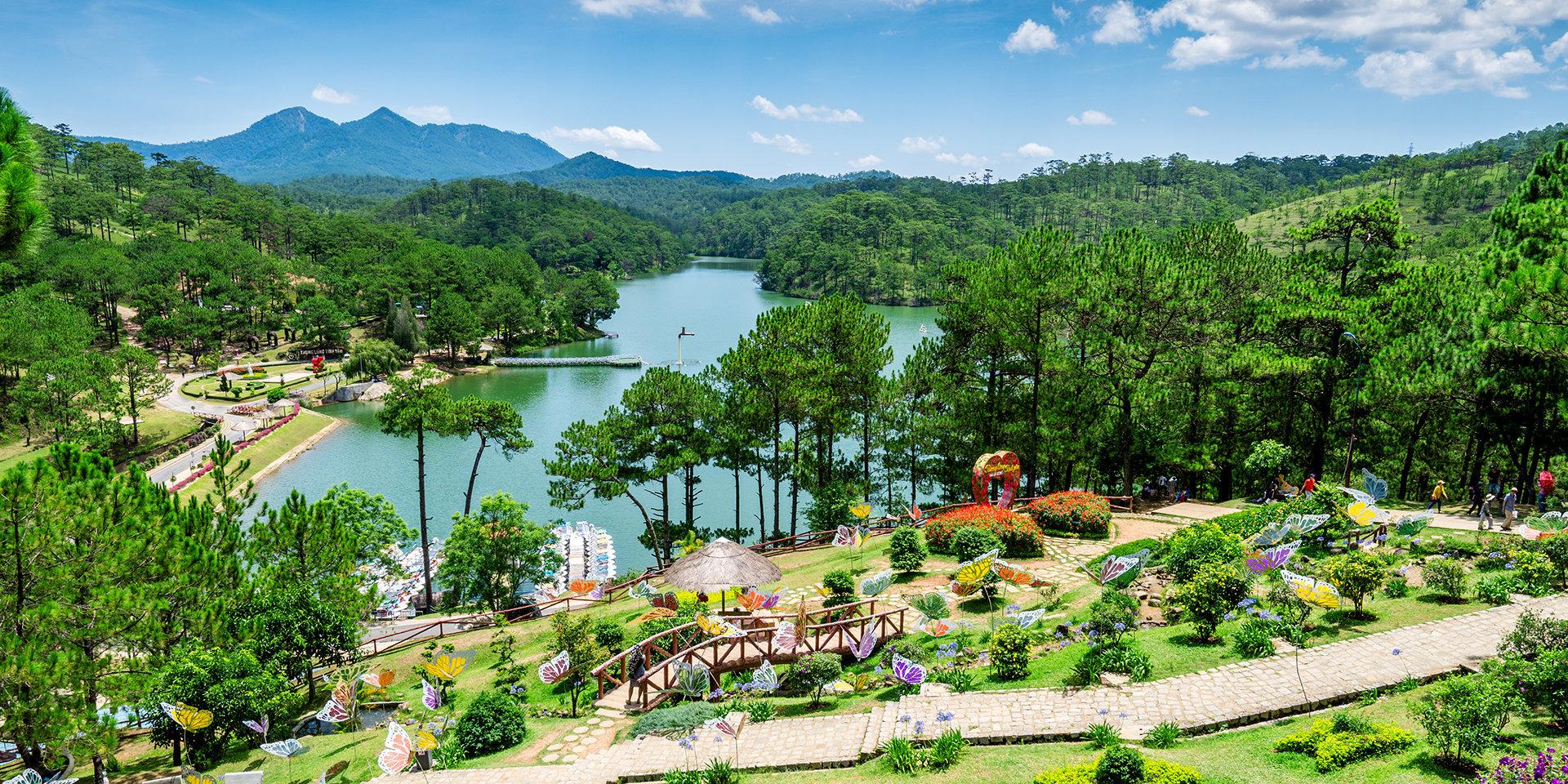 Вьетнамский курорт Далат