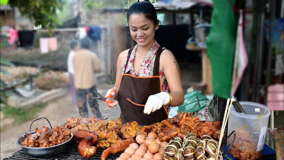 Место для покупки продуктов во Вьетнаме