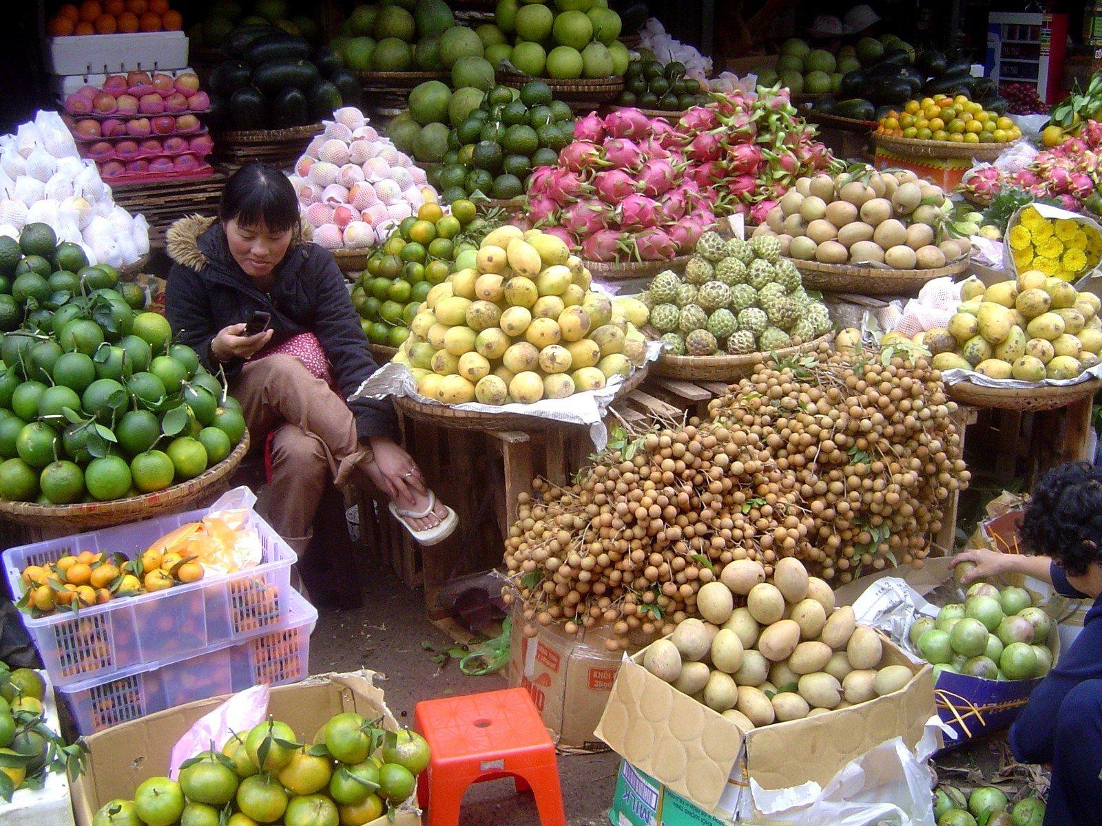 Стоимость продуктов во Вьетнаме