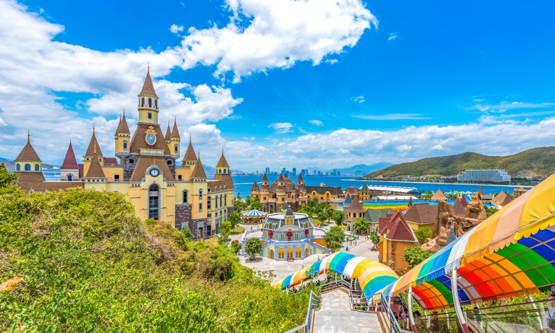 Вьетнамский аквапарк