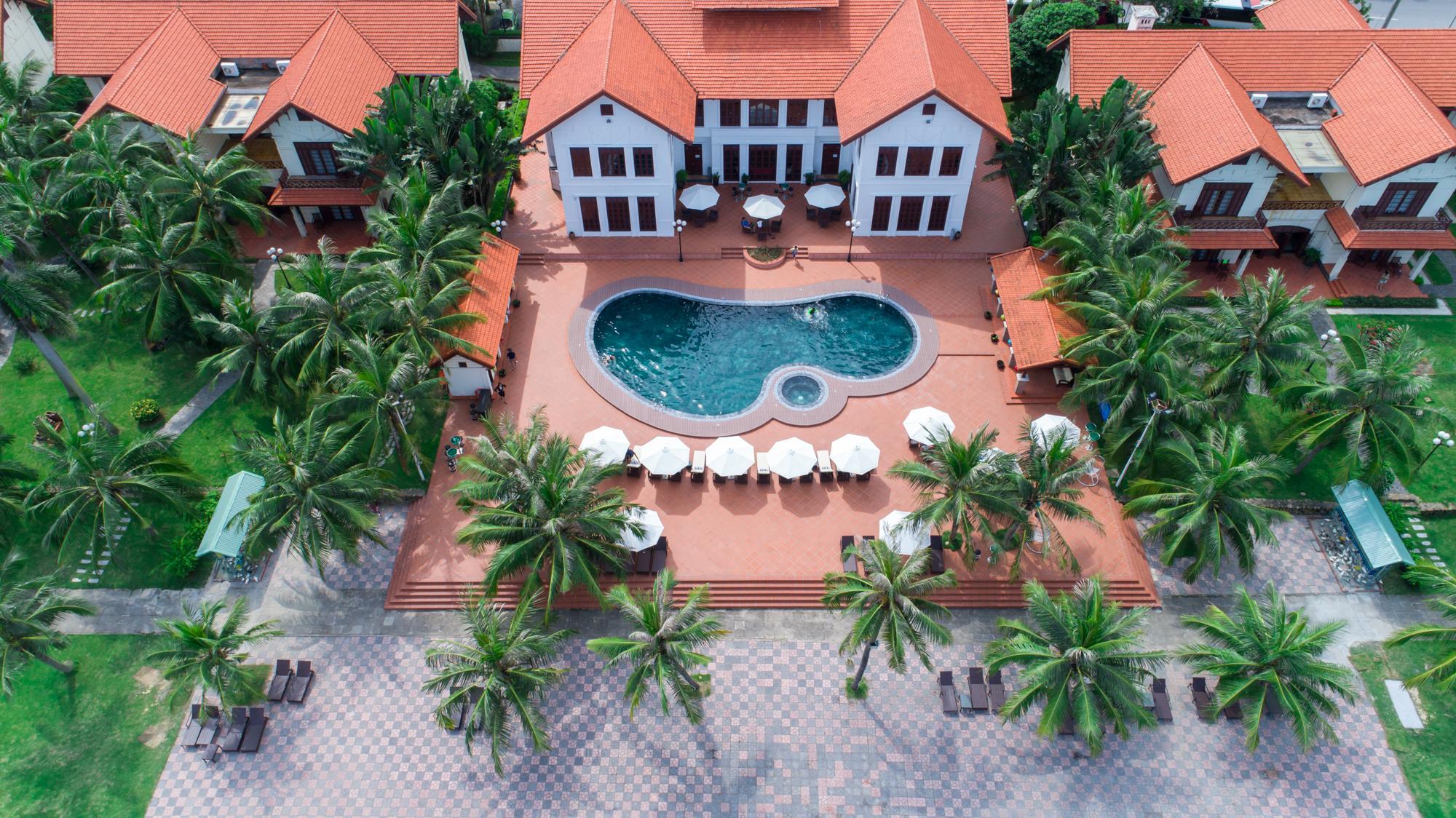 Так выглядит отель La Paz Resort Tuan Chau Ha Long 4*