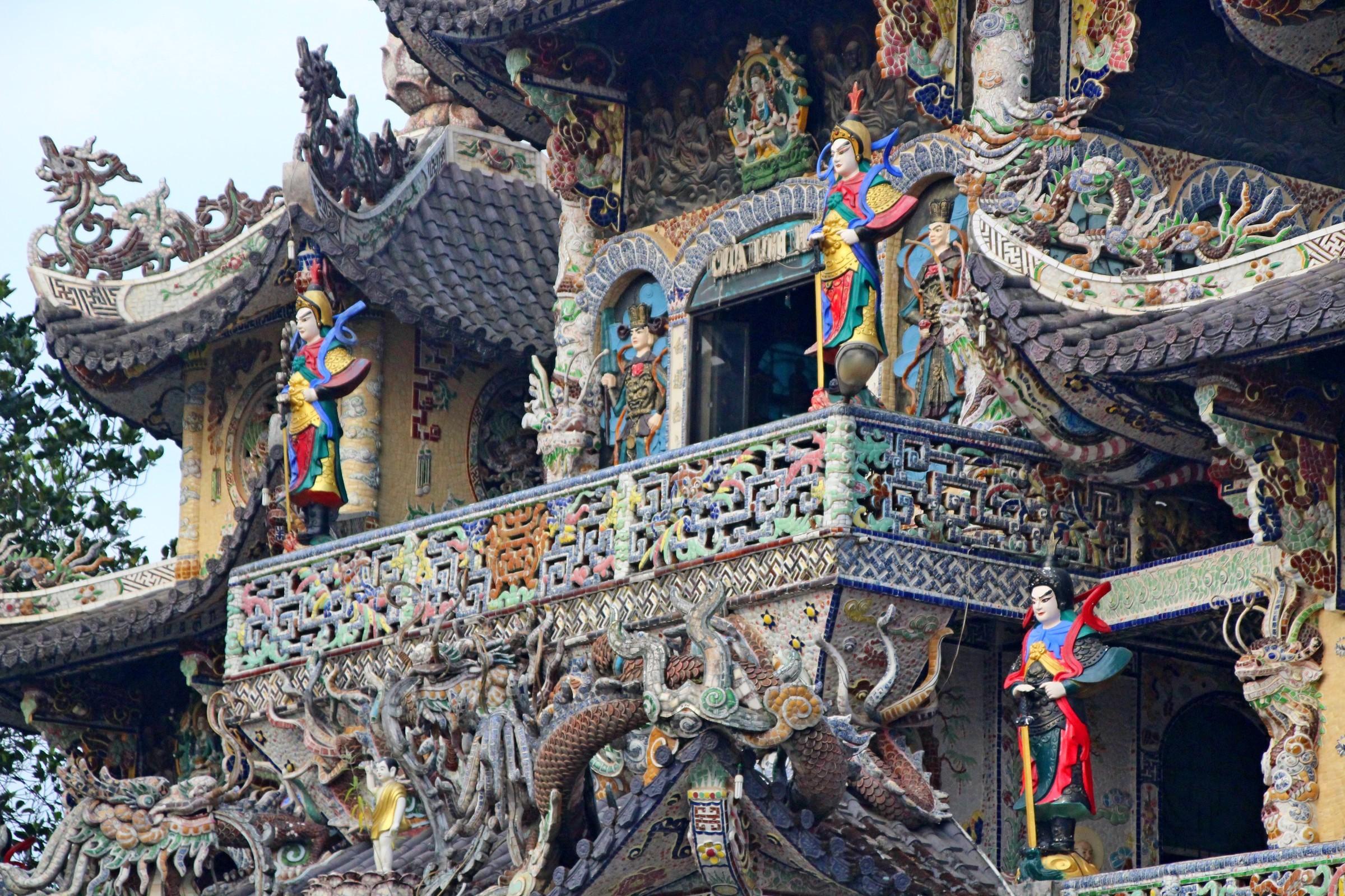Фото храма Линь Фуок