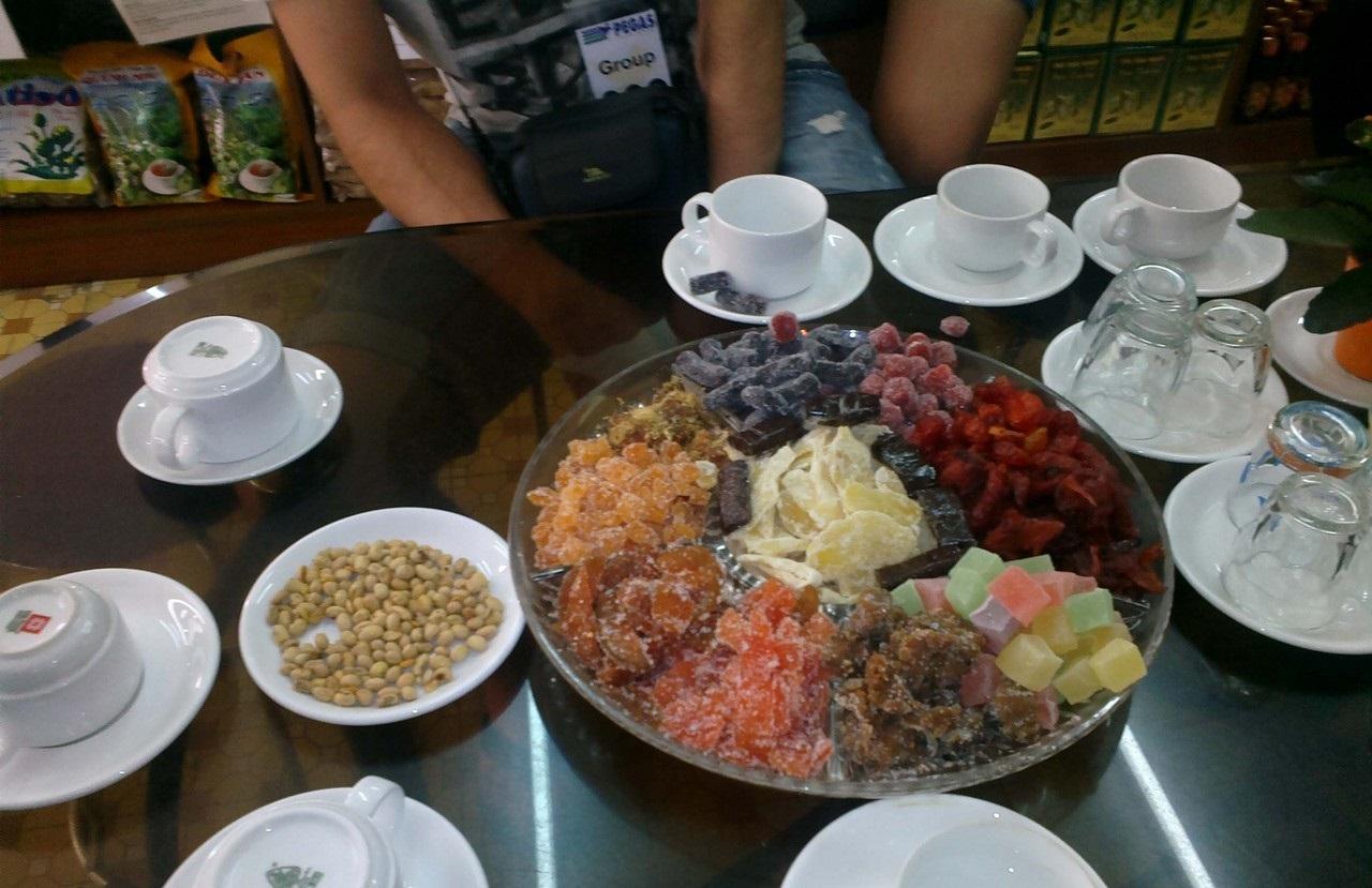 Фото дегустации чая и кофе