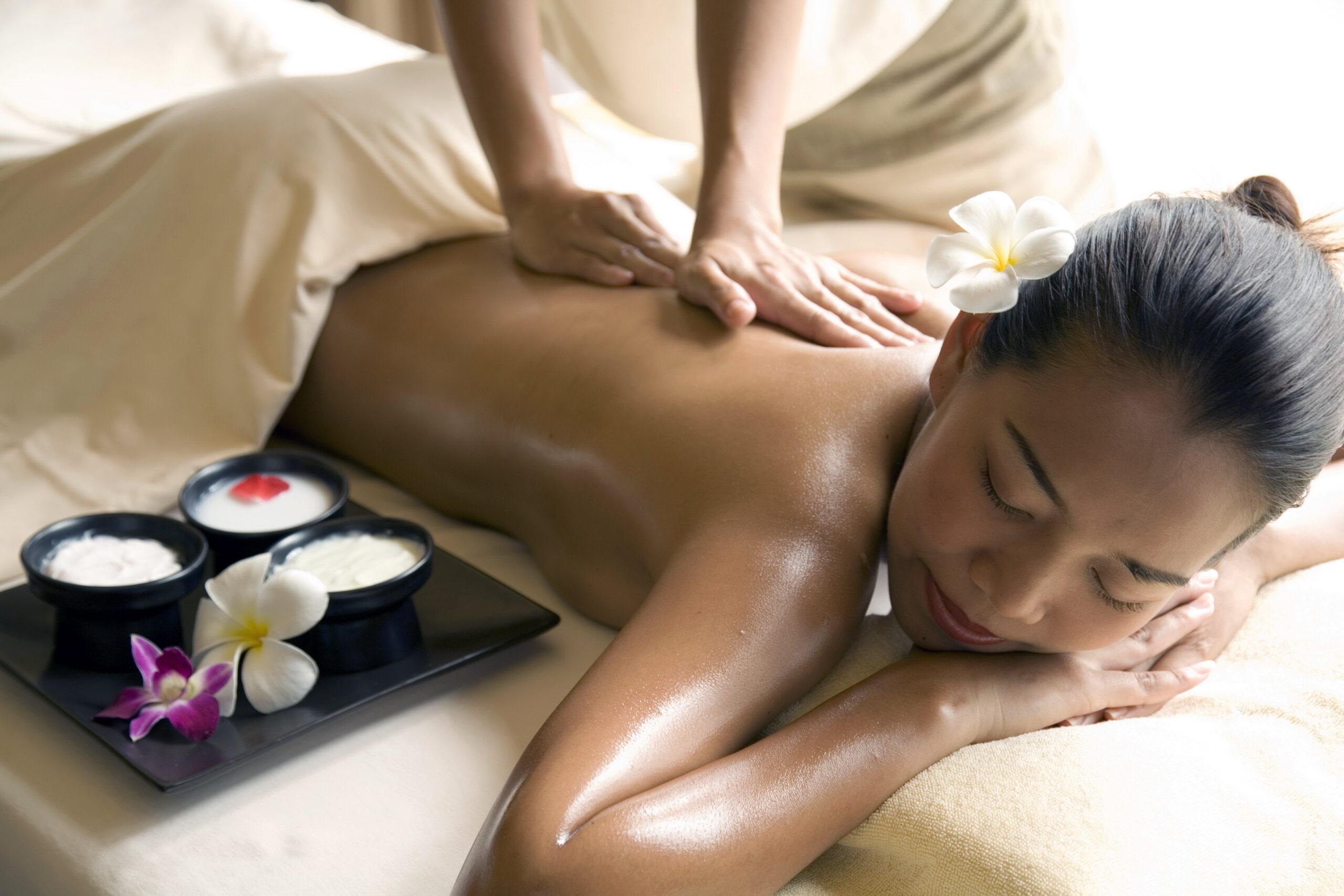 Фото тайского массажа