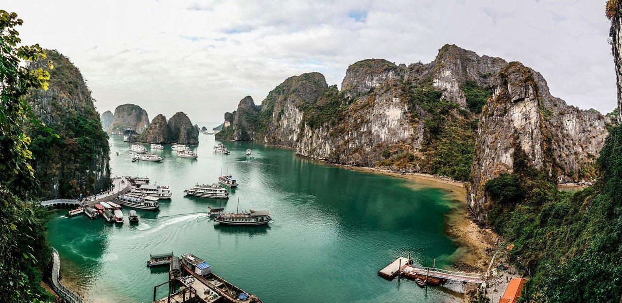 Фото курортов Хайфон и Халонг во Вьетнаме