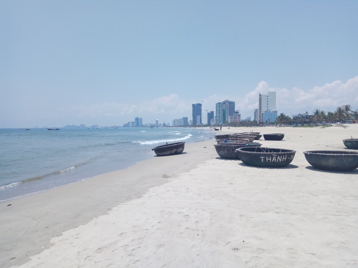 Фото пляжа Тхань Бинь