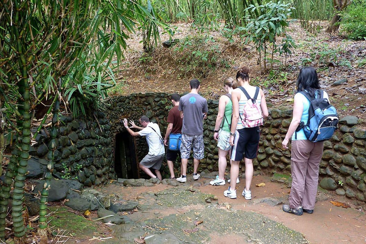 Фото туннелей в Хошимине