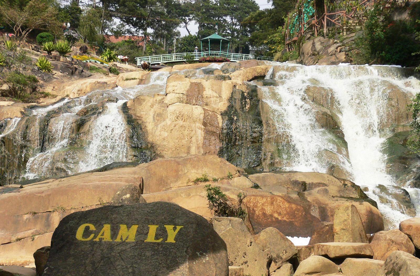 Фото водопада Камли