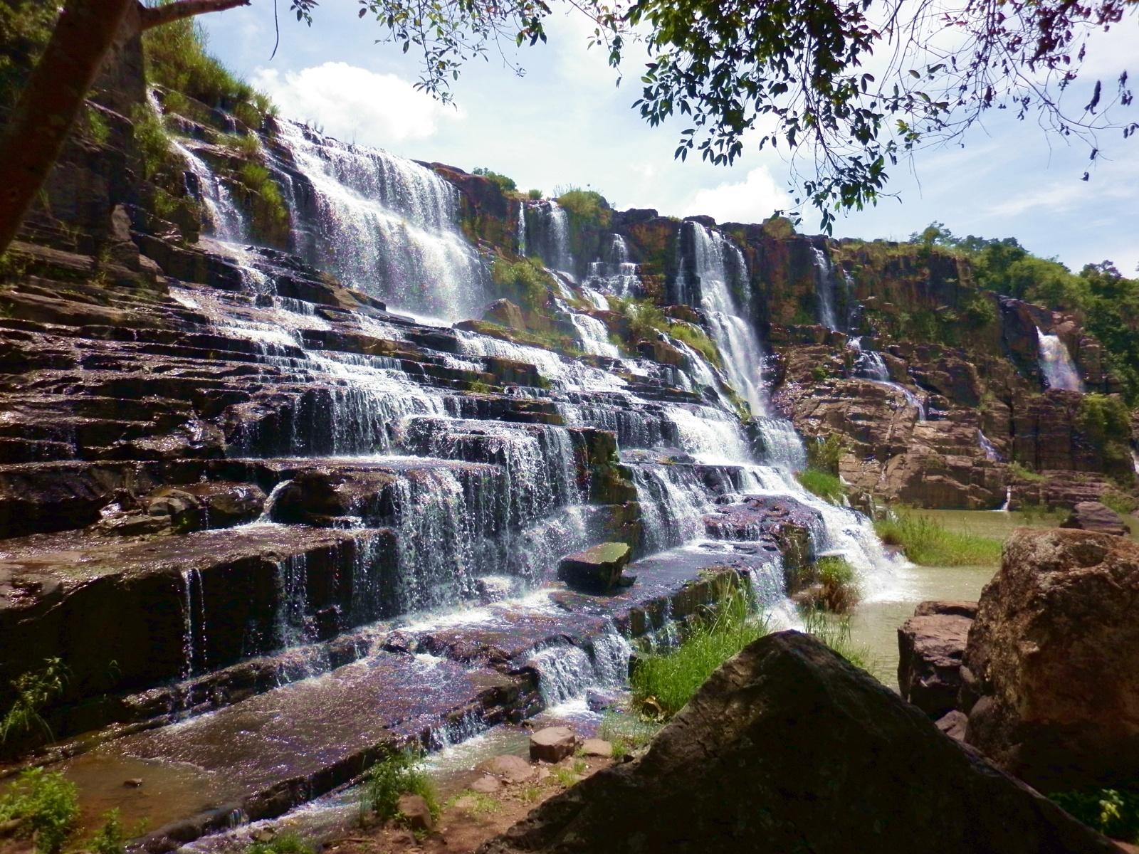 Фото водопада Понгур