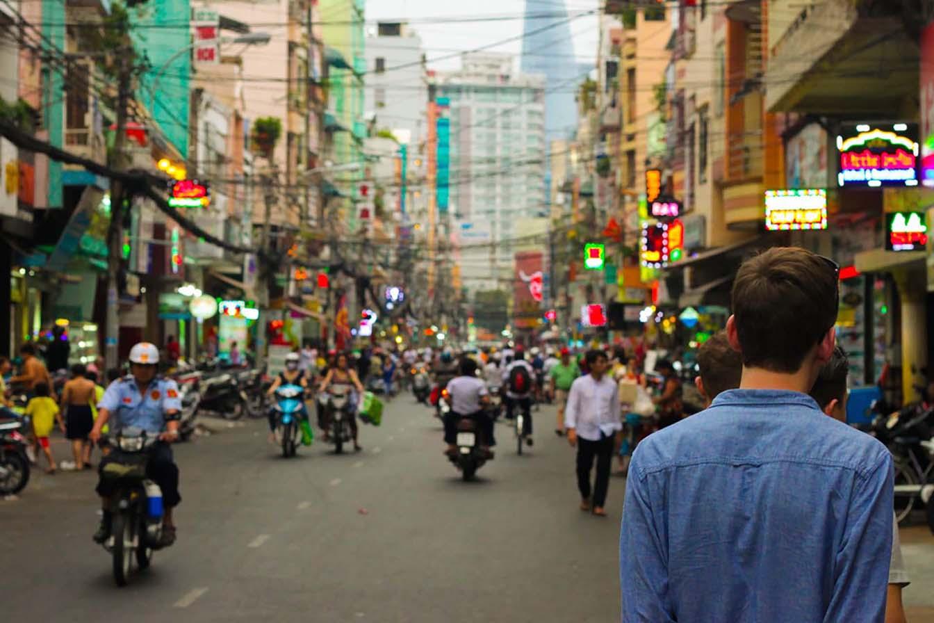 Город Дуонг Донг - это главный район для шоппинга на острове Фукуок
