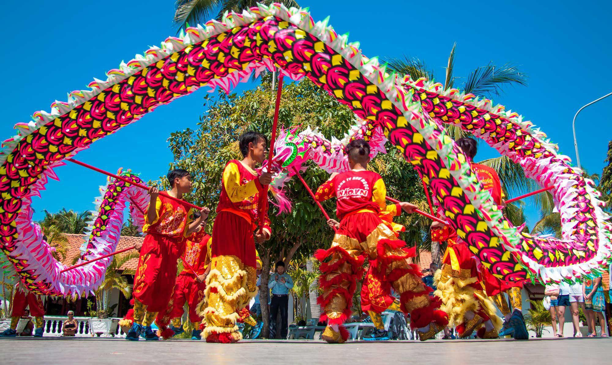 Фото китайского Нового года в Нячанге