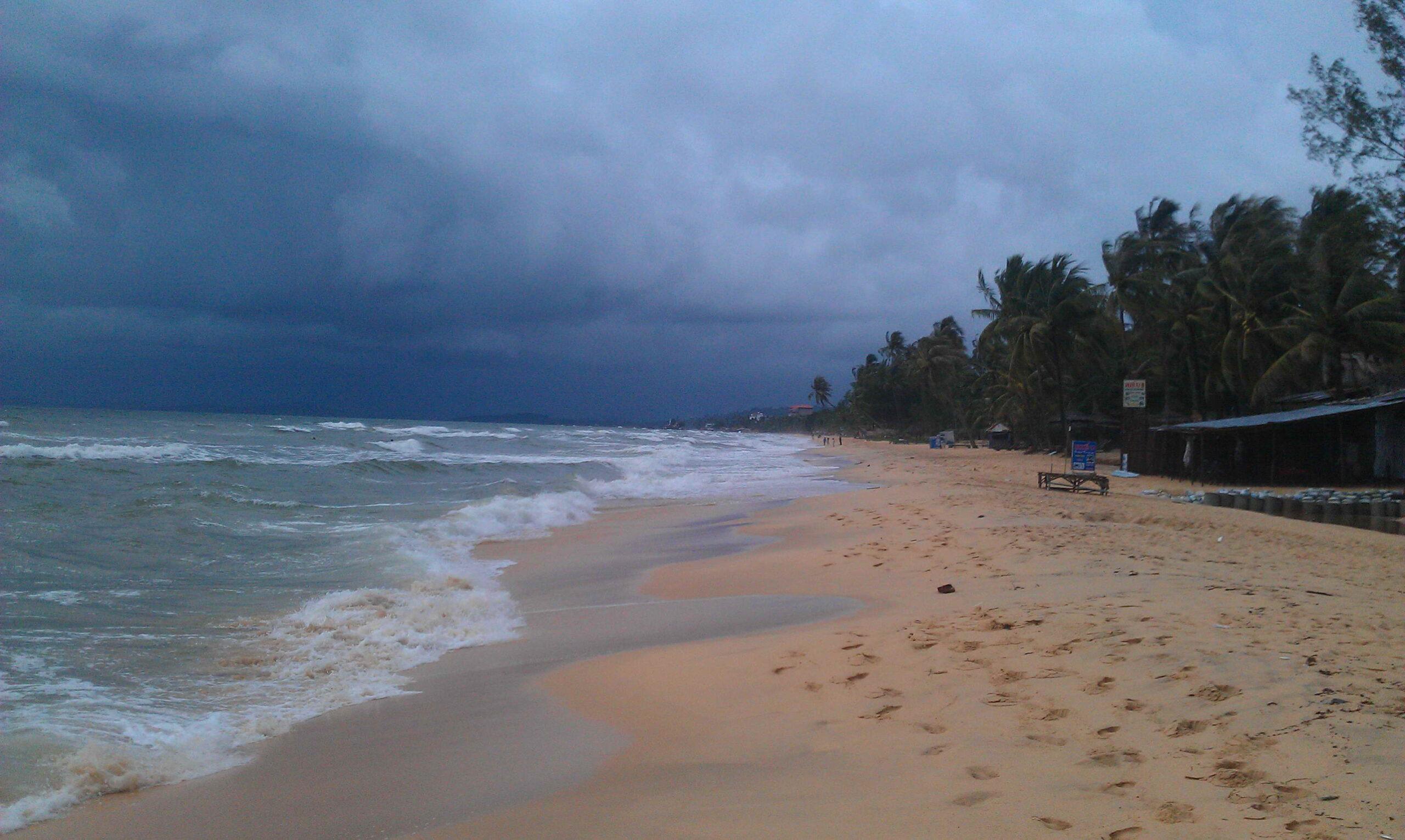 Фото дождя на курорте