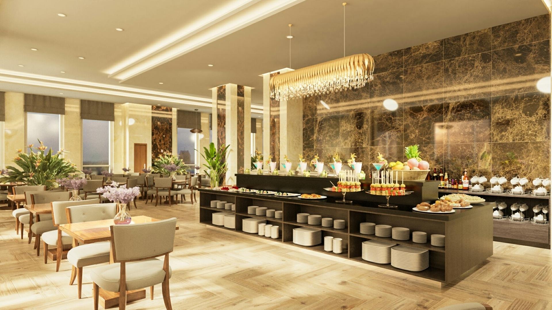 Фото ресторана в Volga Nha Trang Hotel