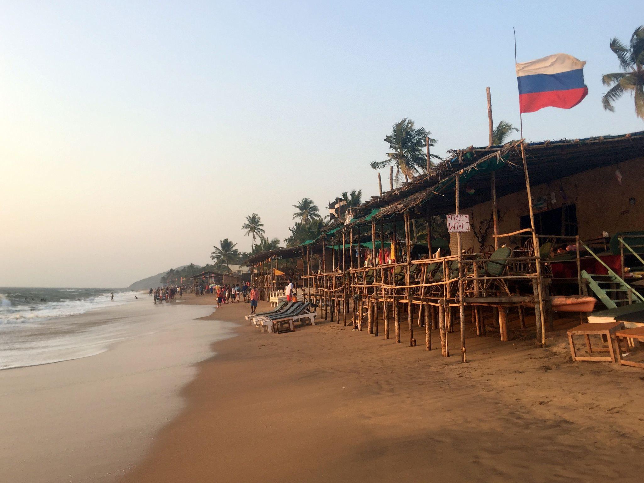 Фото пляжа Анджуна на Гоа