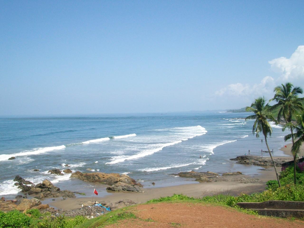 Фото моря на Гоа